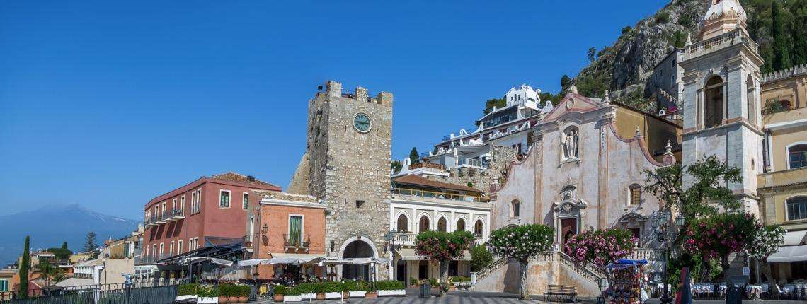 Castelmola-Sicile