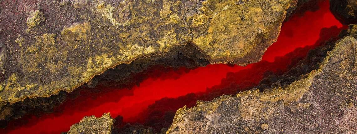Fissure de lave Etna
