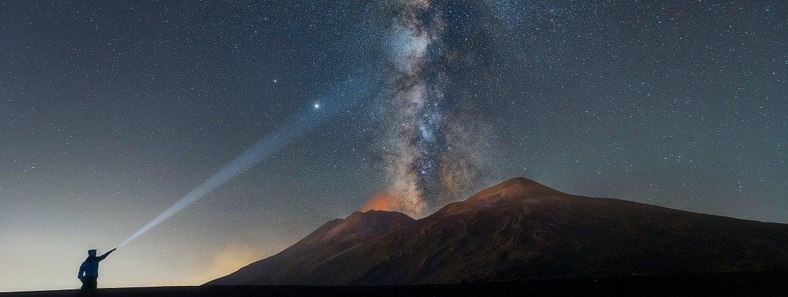 Randonnée Etna Sommet Nocturne