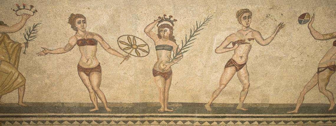 Mosaico-villa-romana-del-casale-Sicilia