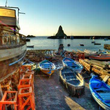 Acitrezza-Sizilien