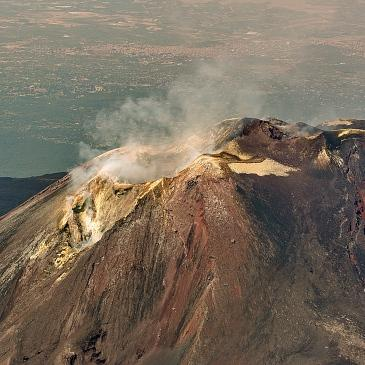 Vol Etna Helicoptere AS350