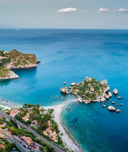 Besuchen Sie Taormina, Naxos und Castelmola
