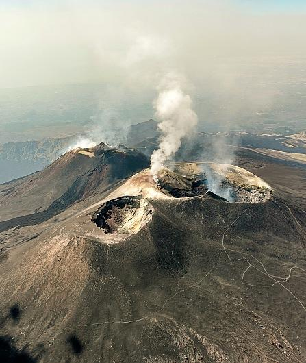 Etna tour by helicopter, with volcanological guide