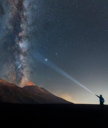Visite de l'Etna au crépuscule, rando au coucher du soleil