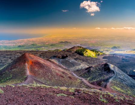 Gravir le volcan Etna